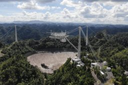 Continue reading: Famous alien-hunting telescope shut down to avoid 'catastrophic failure'