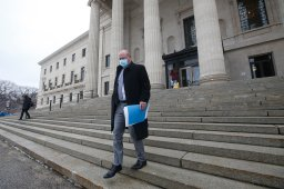 Continue reading: Manitoba's top doc testifies in court challenge to his authority Friday