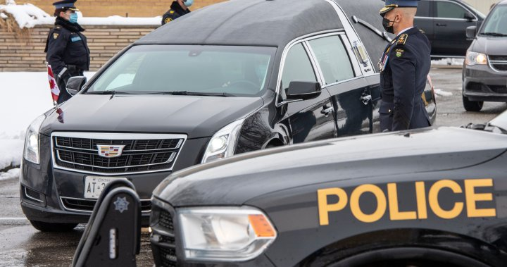 Private funeral to be held for OPP officer Marc Hovingh on Saturday