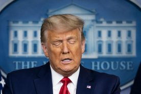 Play video: 'No true supporter of mine could ever endorse political violence' Trump says in video following 2nd impeachment