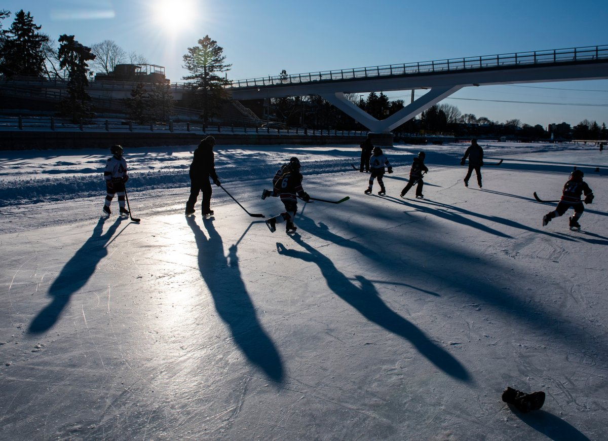 Municipalities across the country are working on guidelines for their outdoor skating rinks [THE CANADIAN PRESS/Justin Tang].