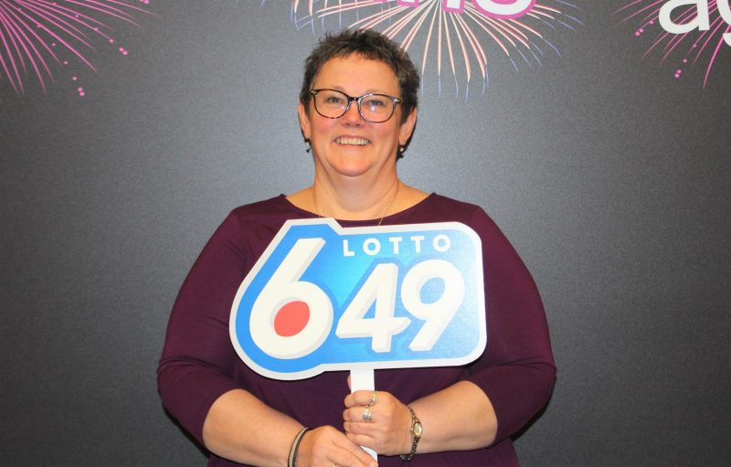 Pamela Dyck-Viner exactly matched a winning guaranteed prize draw number on her Lotto 6/49 ticket for the Oct. 28 draw.