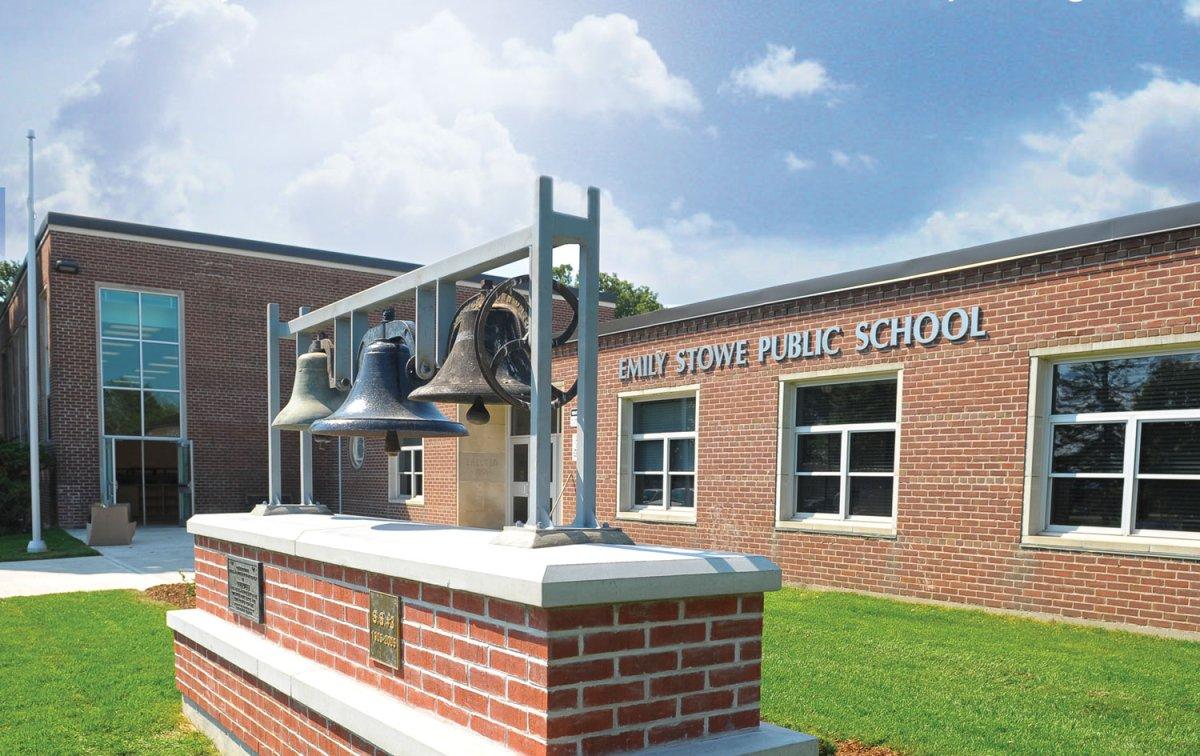 Emily Stowe Elementary school in Norwich.