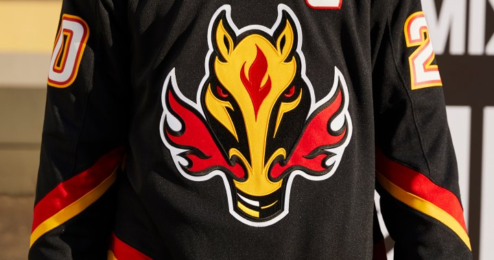 Blasty S Back Flames Resurrect Controversial Logo For Reverse Retro Jerseys Globalnews Ca