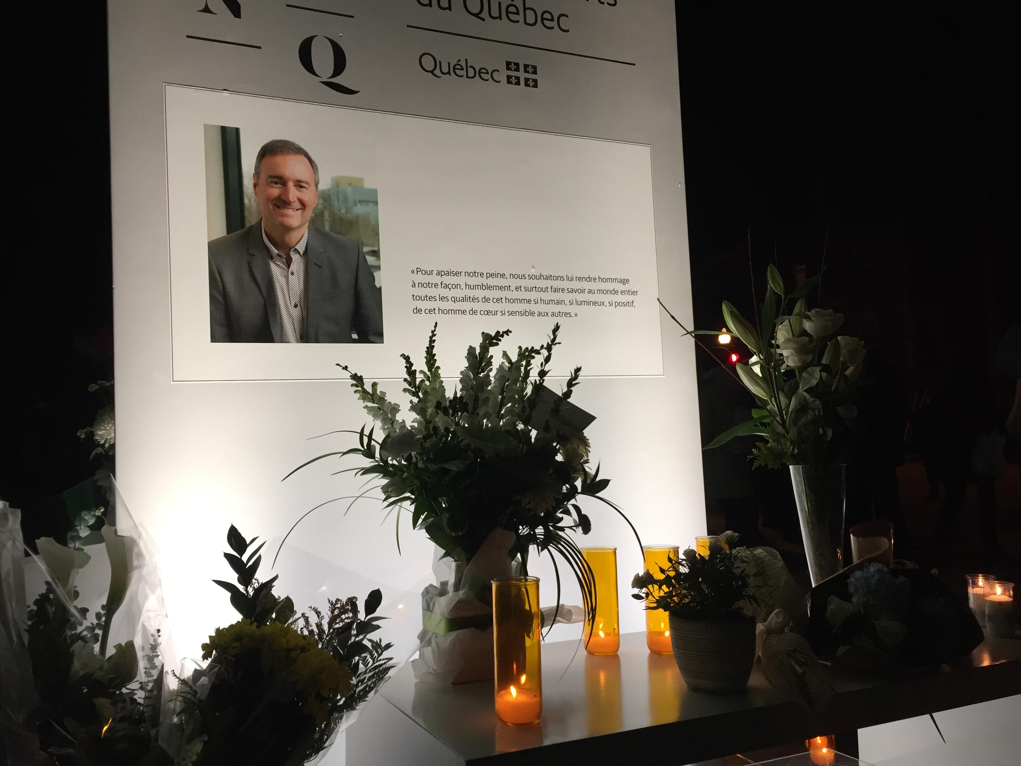 Vigil held for Quebec City victim of Halloween sword attack thumbnail