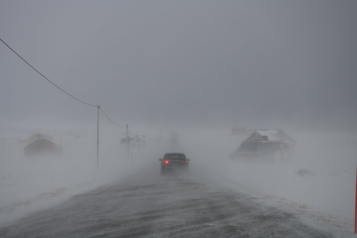 The potential hazard stems from periods of heavy snow on Monday combined with strong winds set to arrive later in the day, according to Environment Canada.