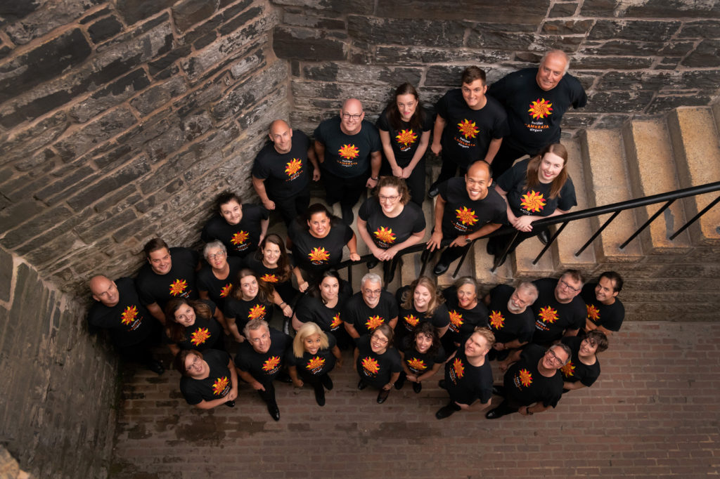 "The Halifax Camerata Singers choir has recorded a 35-minute blend of readings and choral music titled ""Voice of Remembrance"" to be released Nov. 10."