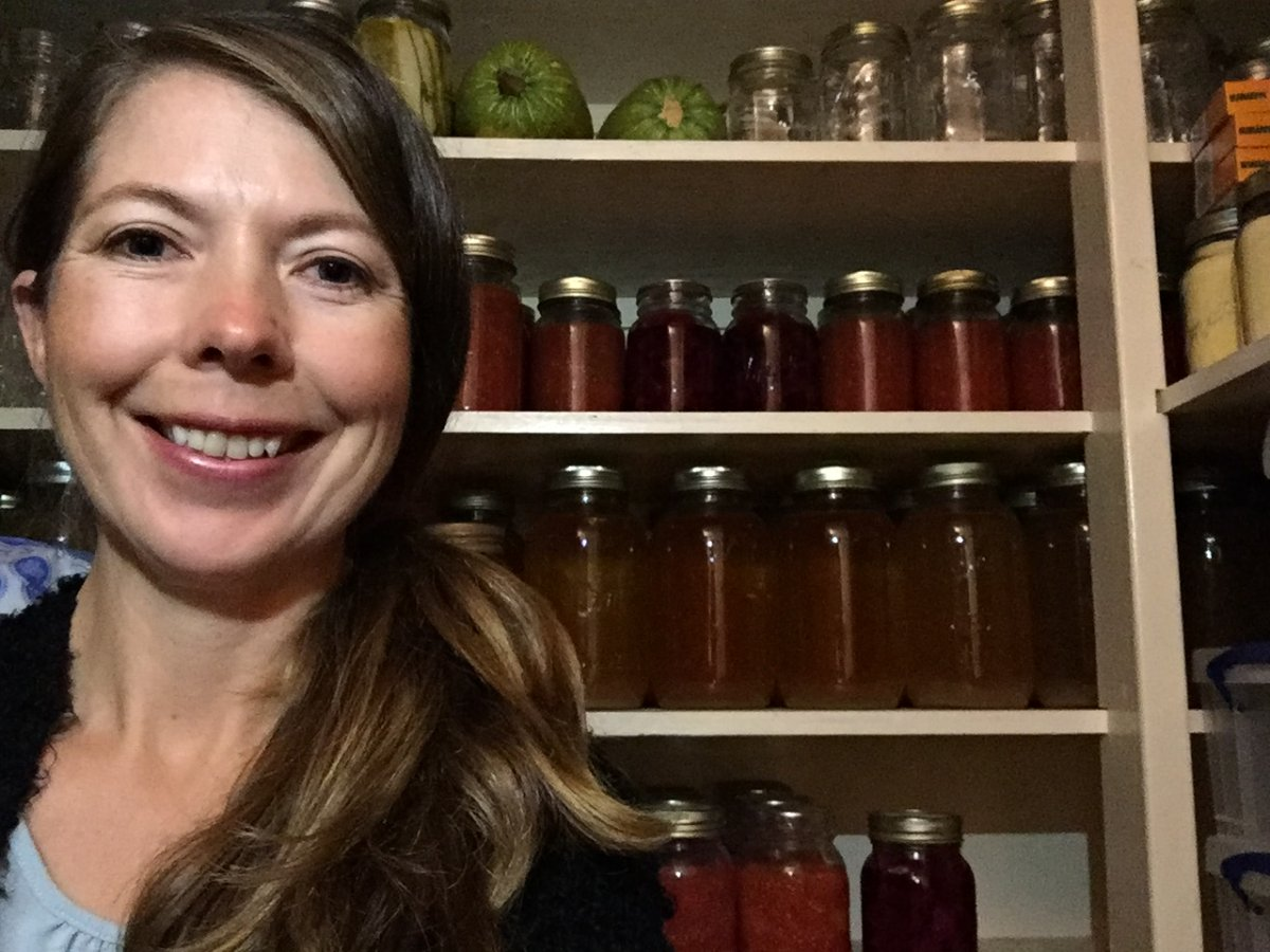Lifelong canner Lexie Spahich, of Marwayne, Alta., has been fielding calls from friends and acquaintances who want to get into it during the pandemic.