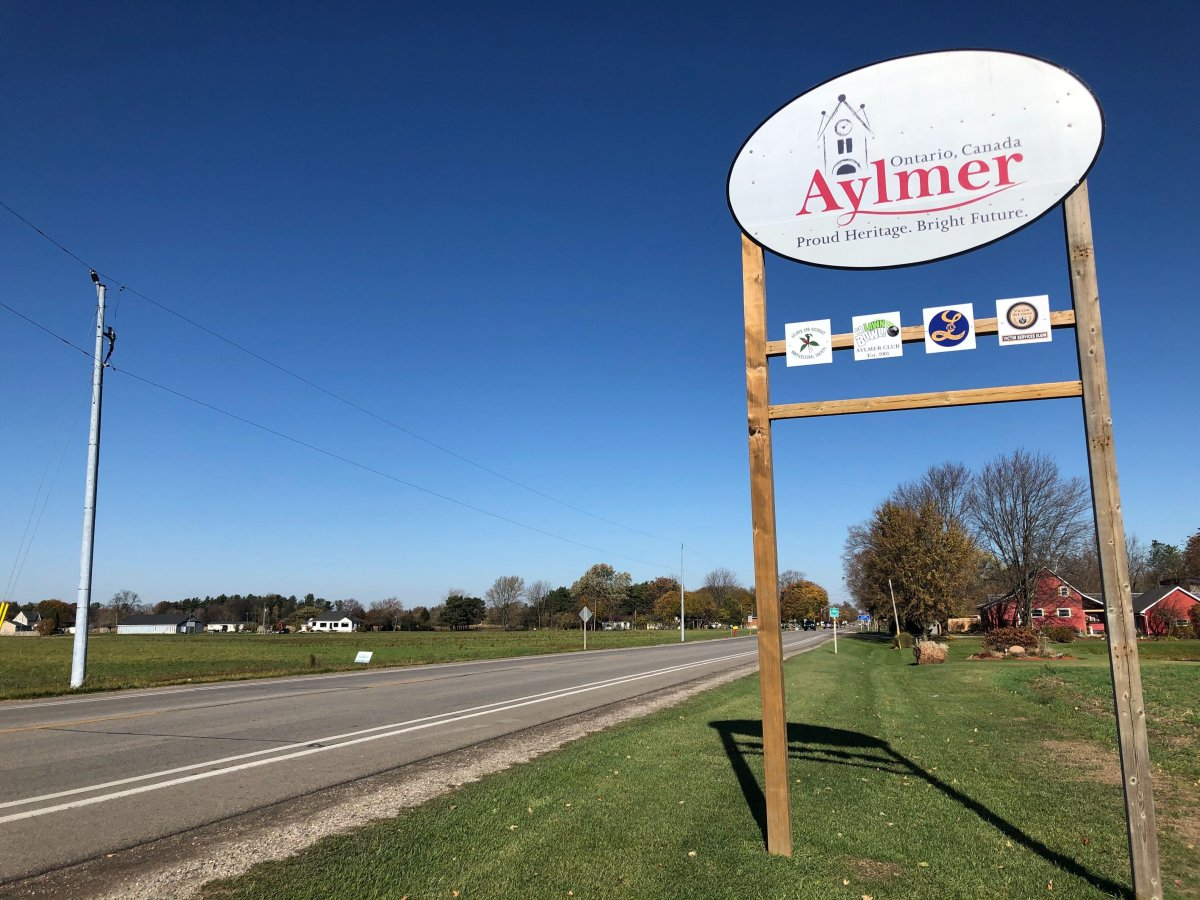 Aylmer, a small town under the jurisdiction of Southwestern Public Health, moved into Ontario's Orange-Restrict level earlier this week.