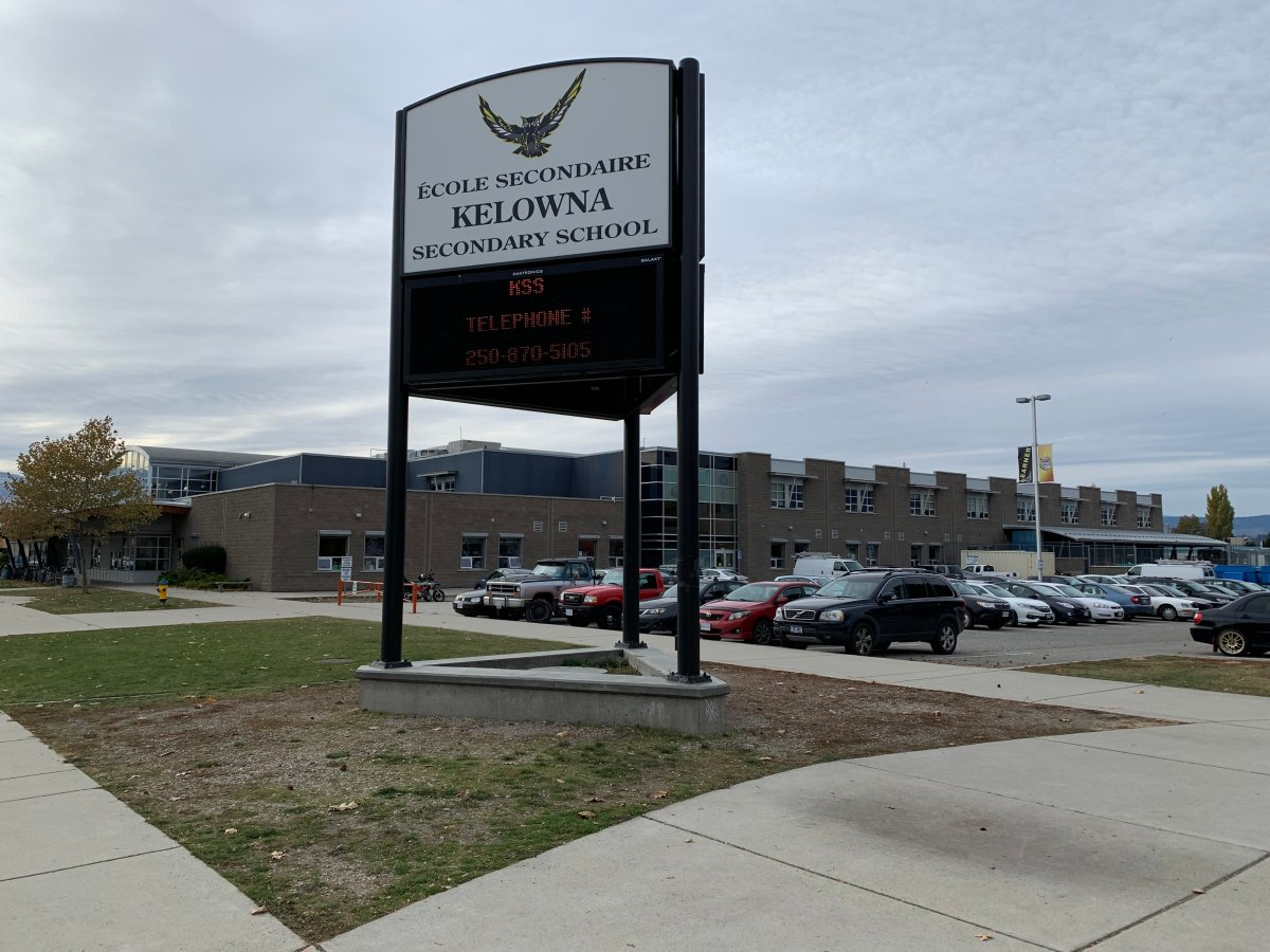 Two more positive cases of COVID-19 were announced at Kelowna Secondary School over the weekend. It's one of more than a dozen Okanagan schools were COVID-19 exposures have been identified.