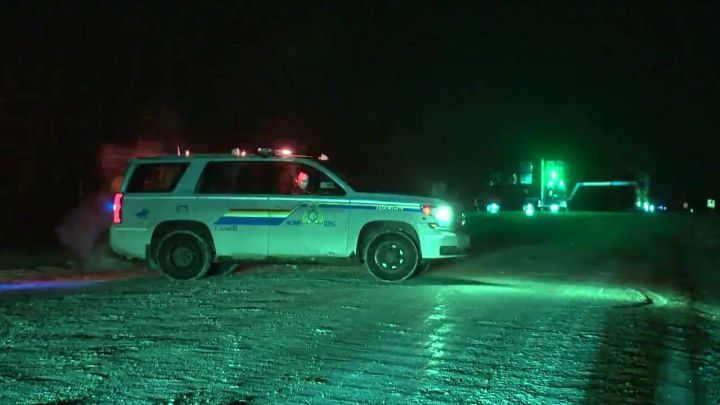 Leduc RCMP said an investigation is underway after a deadly crash occurred at the intersection of Highway 814 and Township Road 490 on Friday night.