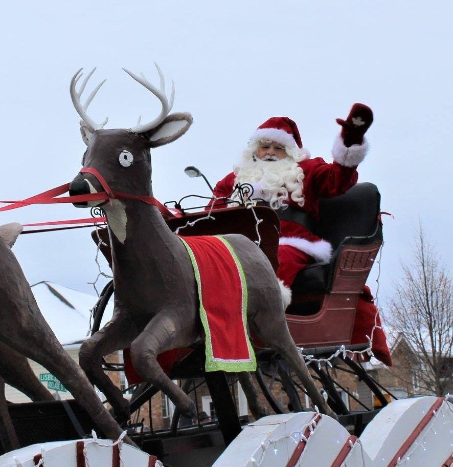 """Santa Claus will be taking a """"road trip"""" in Lindsay on Nov. 22 in place of the traditional parade."""