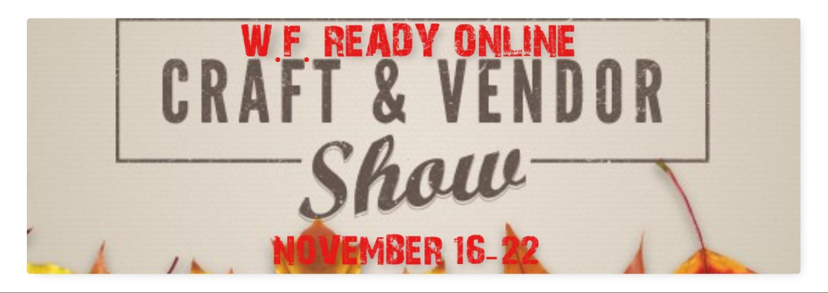 Craft & Tradeshow. Shop local and support our school.