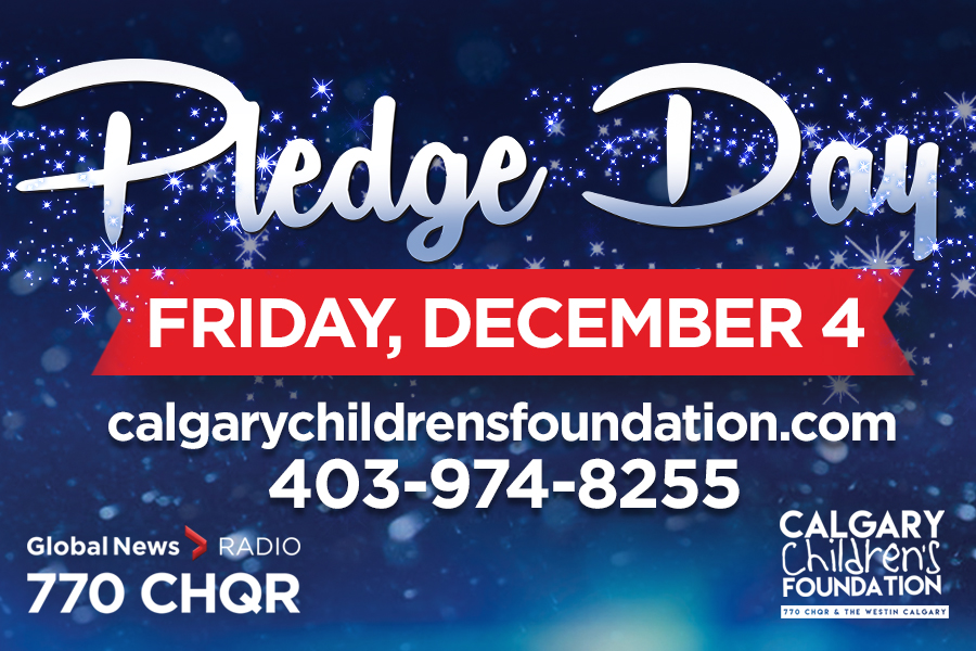 """Pledge Day will """"have a different feel"""" in 2020, Calgary Children's Foundation chair John Vos said."""