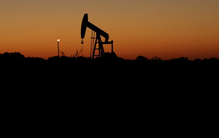 A file photo of a pumpjack.