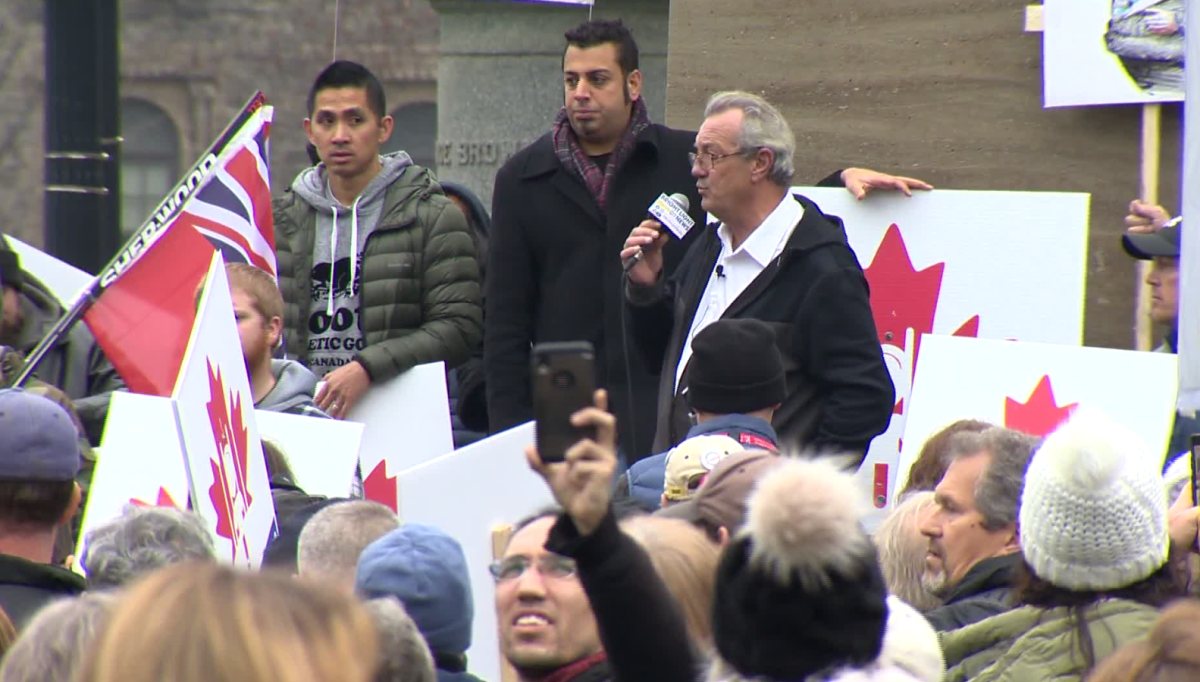 Kingston-area MPP Randy Hillier is facing a minimum $10,000 fine after holding a gathering that intentionally broke Ontario's COVID-19 gathering restrictions Thursday outside of Queen's Park.