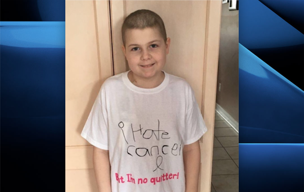 The birthday cards aim to lift the spirits of young Sarah Hamby amid her fifth relapse of acute lymphoblastic leukemia.