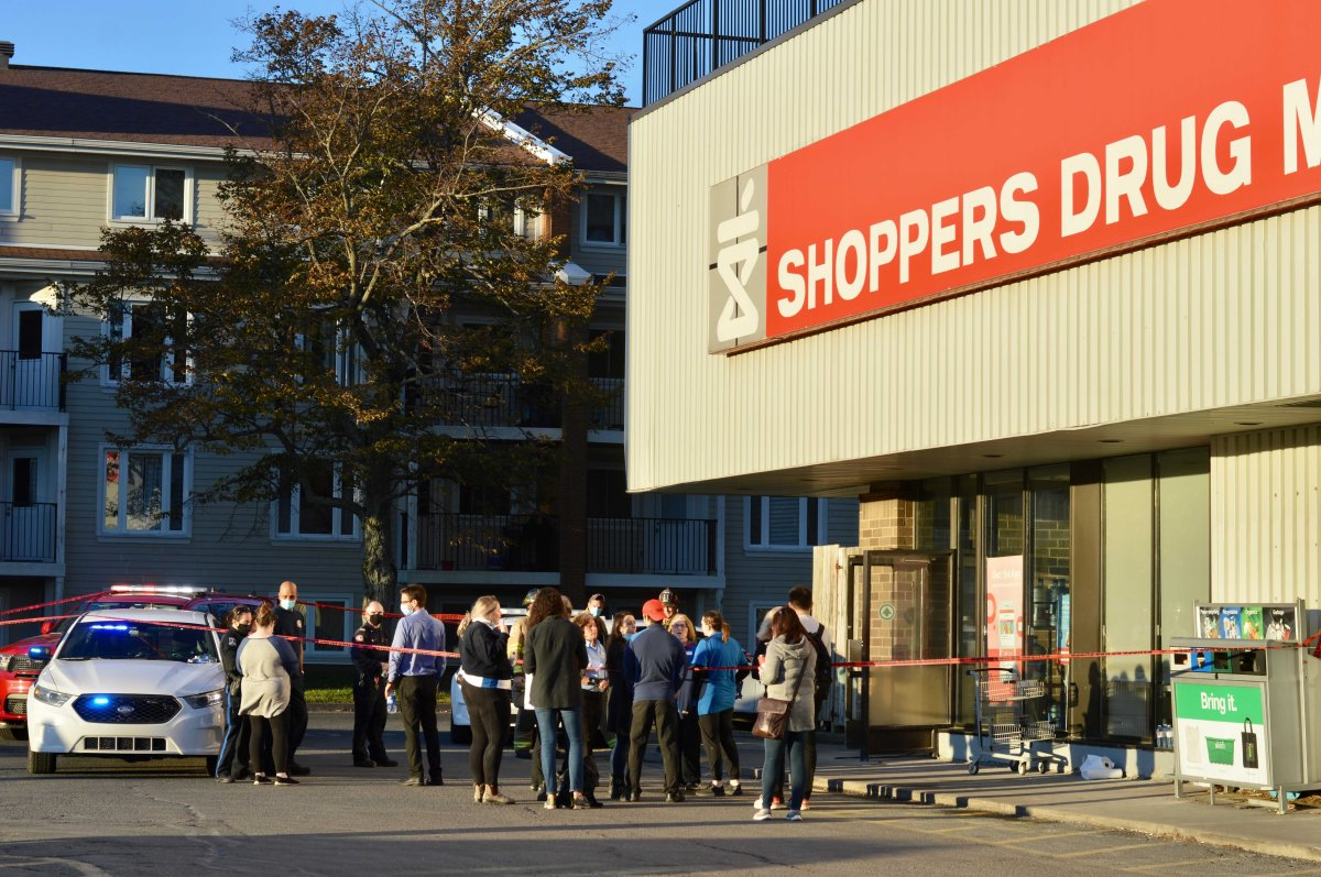 Halifax police responded to a scene on Quinpool Road after a man allegedly sprayed several people with sensory irritant at Shoppers Drug Mart on Nov. 10.
