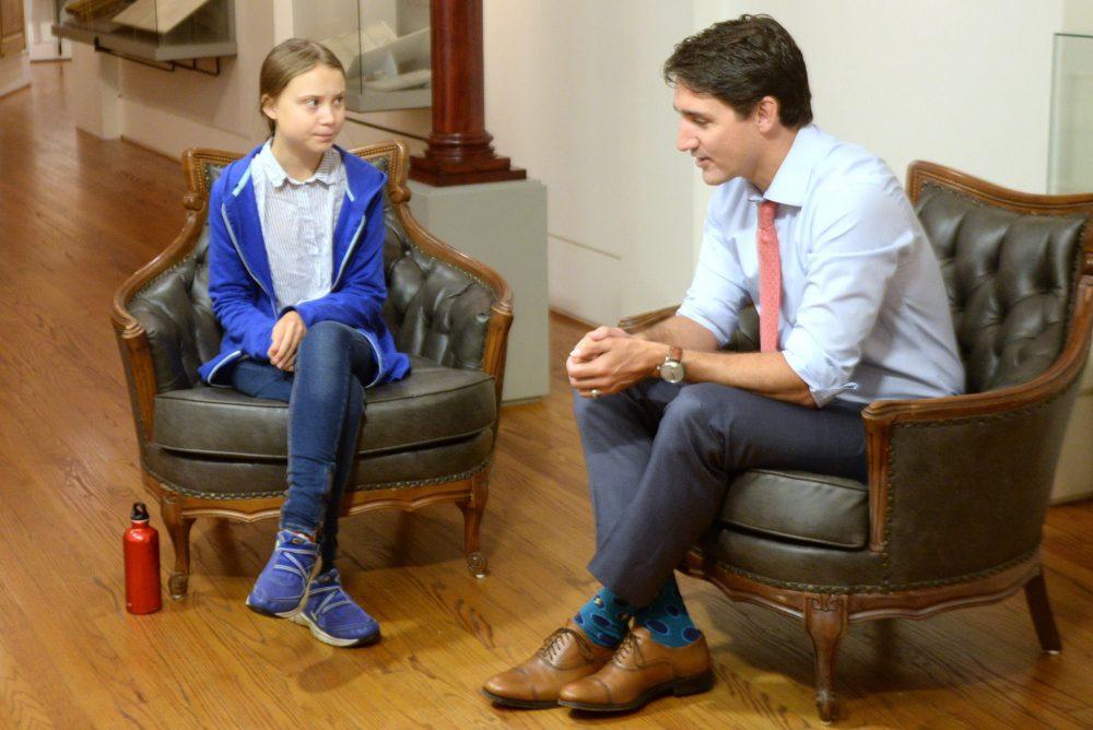 Trudeau pranked into talking Trump, 'South Park' with fake Greta Thunberg