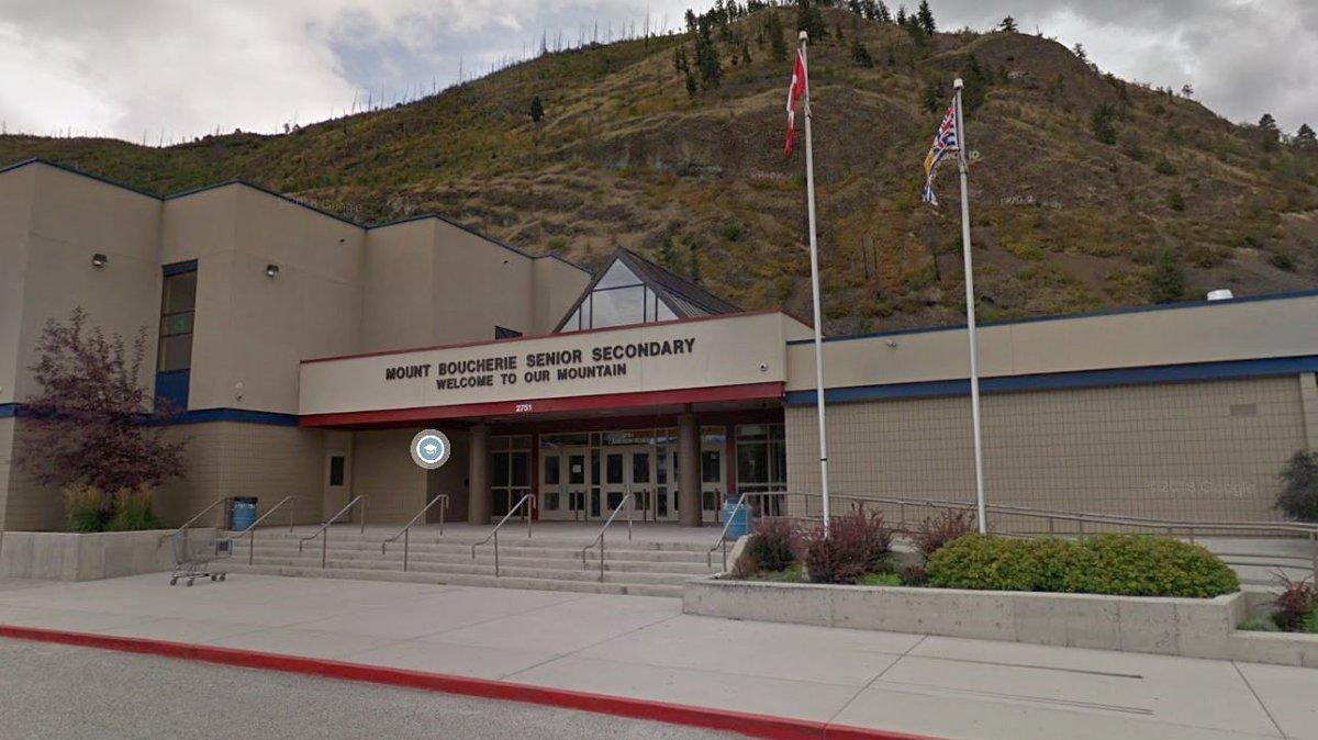 Mount Boucherie Secondary School in West Kelowna.