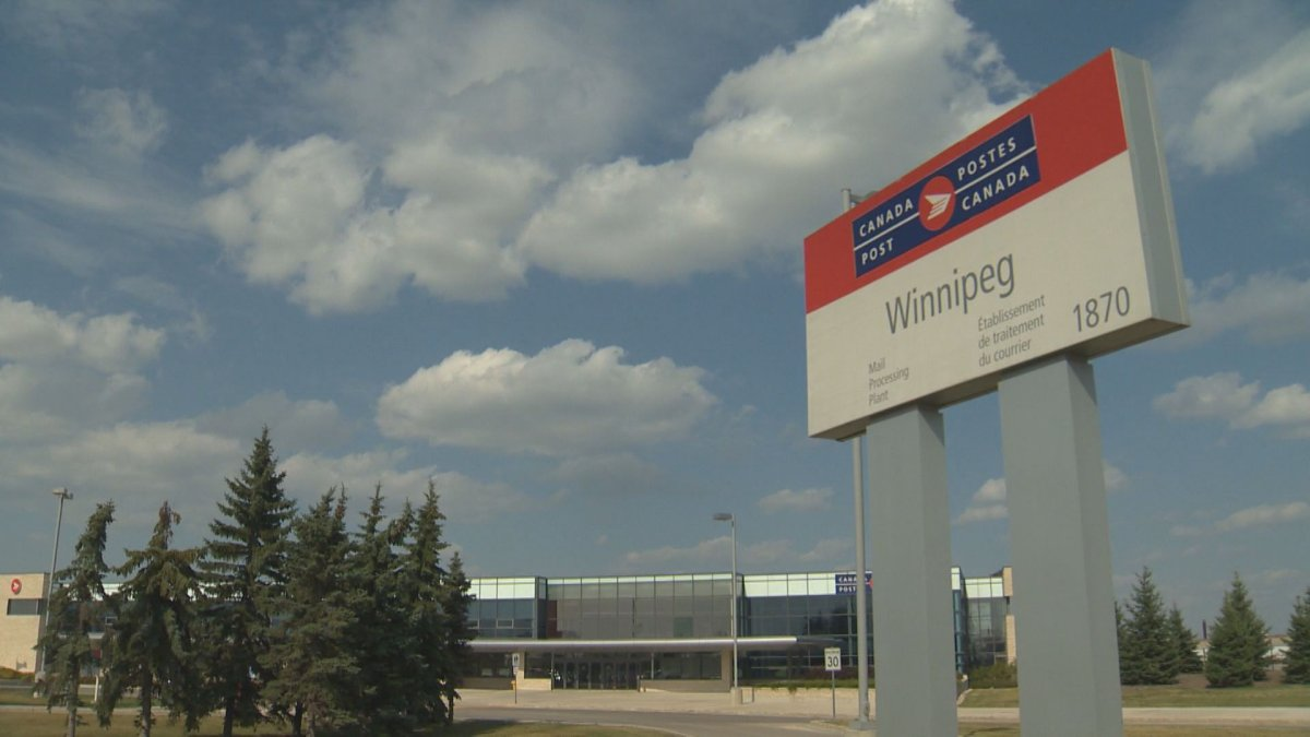 The Canada Post Mail Processing Plant in Winnipeg has seen four COVID-19 cases within the last week.