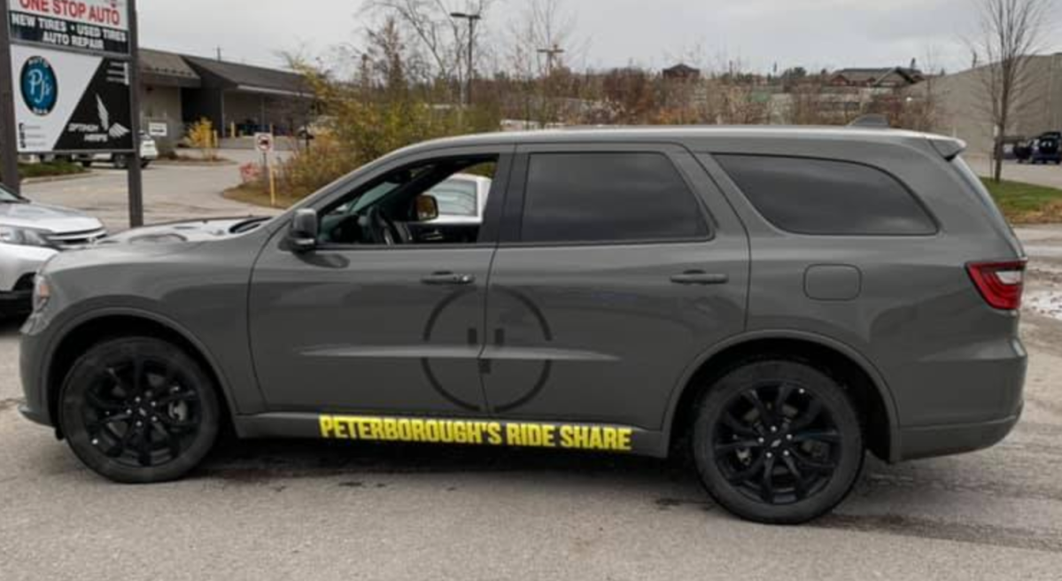 New ridesharing service Y Drive Ptbo launched on Thursday, one day ahead of a scheduled launch by URide.