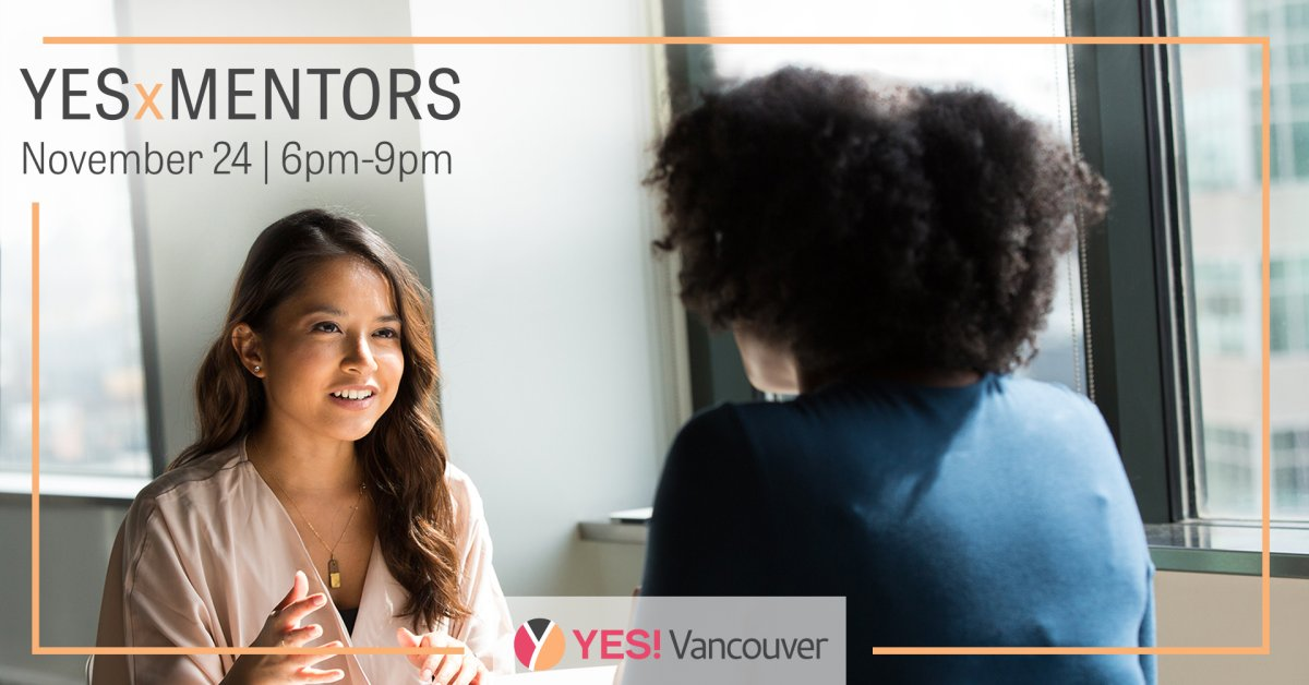 We are so excited to be hosting our 5th annual Speed Mentoring event virtually this year! This is our most popular event and understandably so because it's an opportunity for participants to get quality face time with some of Vancouver's best & brightest in an intimate setting. As an attendee, you get to spend time with inspirational mentors, who will be answering your questions, sharing their insights, and letting you in on their own journeys to where they are today. Discover our amazing lineup of mentors on the Yes! website. Attendees will also have the chance to participate in a virtual silent auction and to win (virtual) door prizes! Best of all, every penny raised at this event, like all of our events, goes directly to Dress for Success Vancouver. YES! is a non-profit women's networking organization that organizes fun, philanthropic events to raise awareness and funds for DFS Vancouver. DFS Vancouver, in turn, empowers women back into the workforce around the Lower Mainland and Fraser Valley, by providing dressing, career, and mentoring services, as well as a community of peers that help raise each other up.