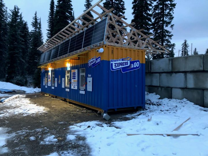 Big White has received a new Return-It recycling facility.