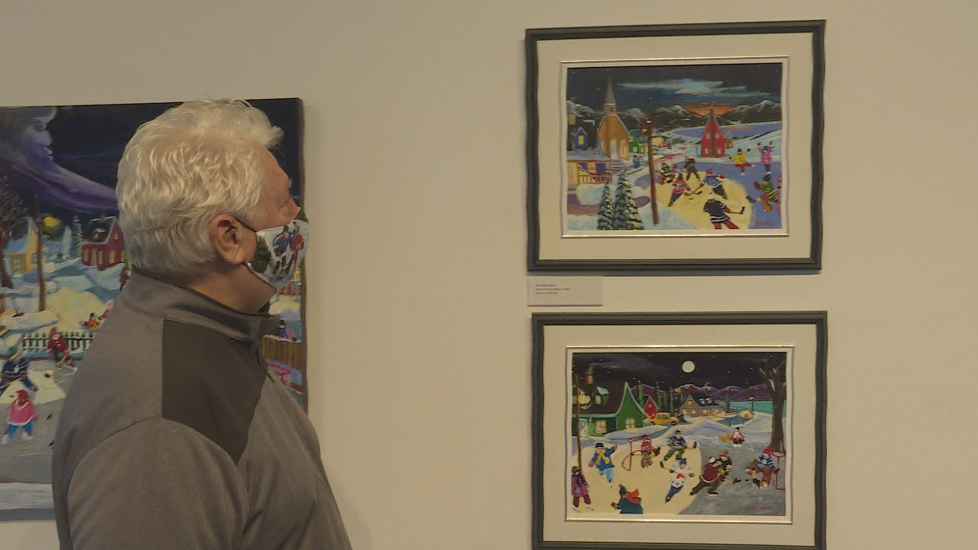 Former Vancouver Canucks goalie's art featured in Kelowna Art Gallery exhibition