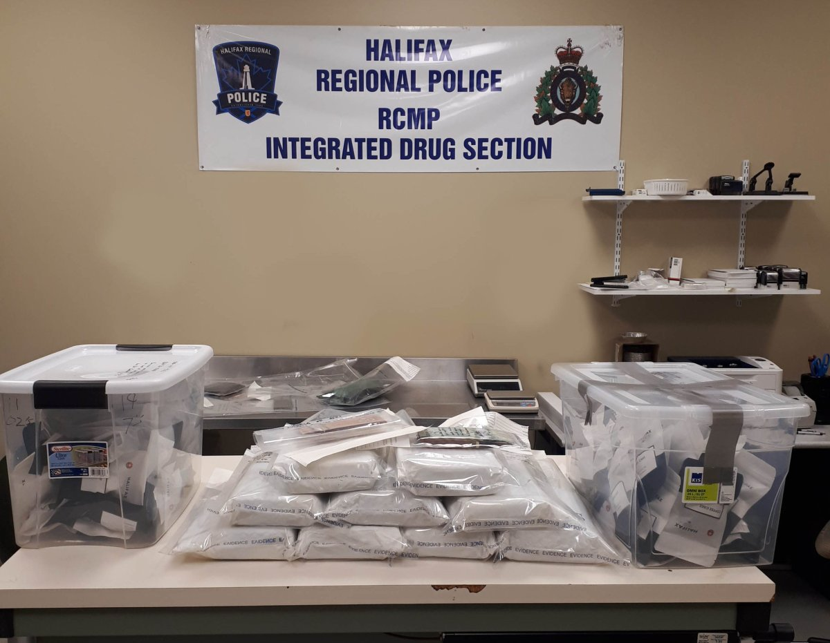 Halifax police have seized nine kilograms of cocaine, approximately 140 packages of cannabis edibles, five cases of illegal tobacco and more than $7,000.