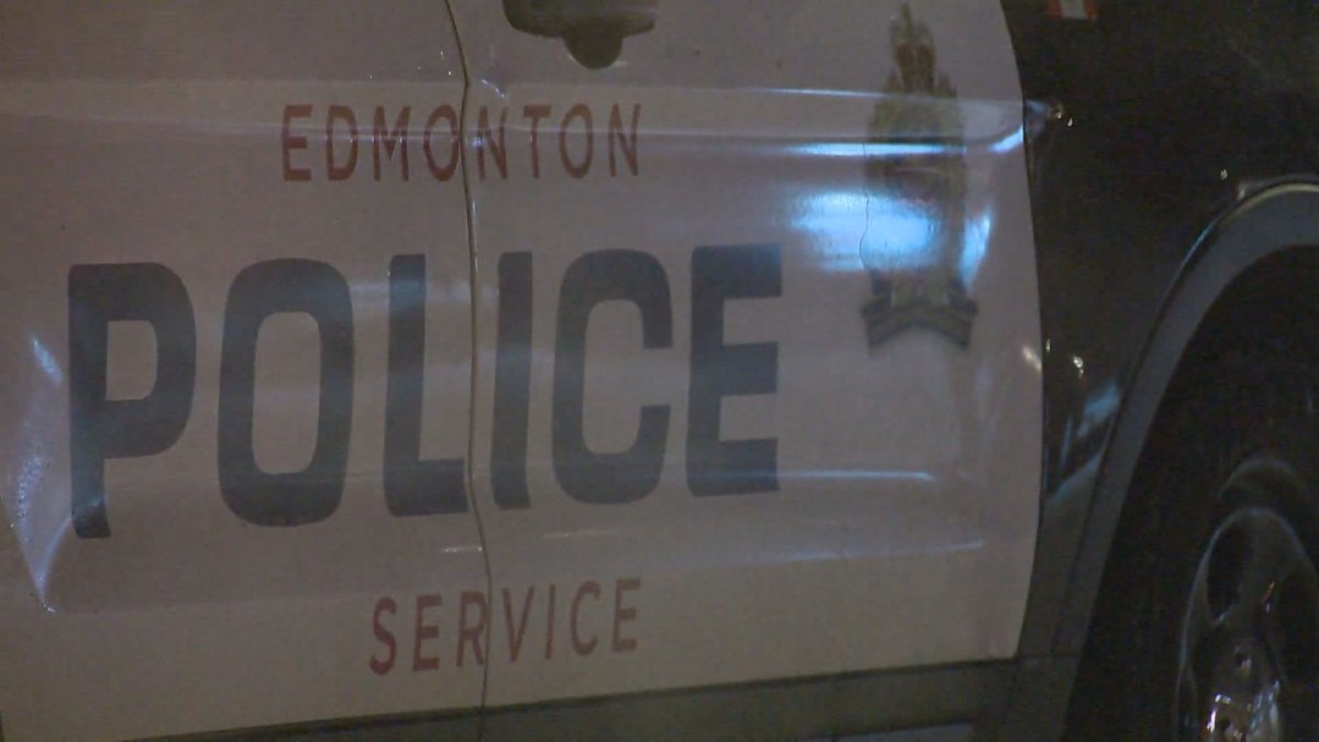 A shot of an Edmonton Police Service vehicle taken on Nov. 20, 2020.