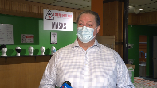 Exchange PPE's CEO and co-founder, Noel Bernier.