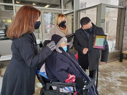 Continue reading: Free iPads delivered to West Island seniors in isolation