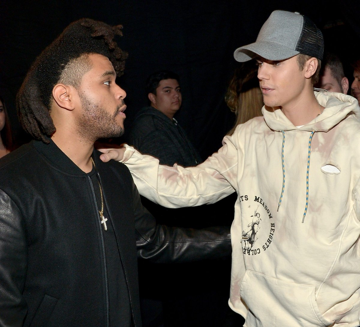 The Weeknd, Justin Bieber