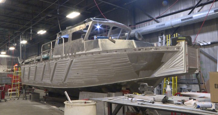 Kingston's Metalcraft Marine wins contract to supply barges to Canadian Coast Guard