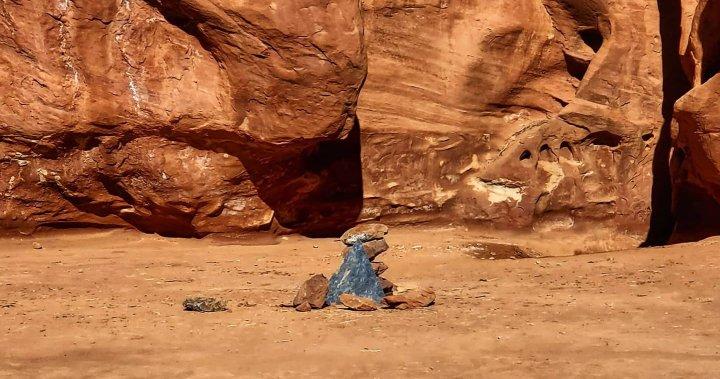 Mystery Utah monolith vanishes after visitors trash the secret site