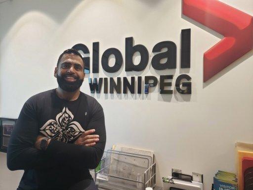 Winnipeg restaurant owner Obby Khan.