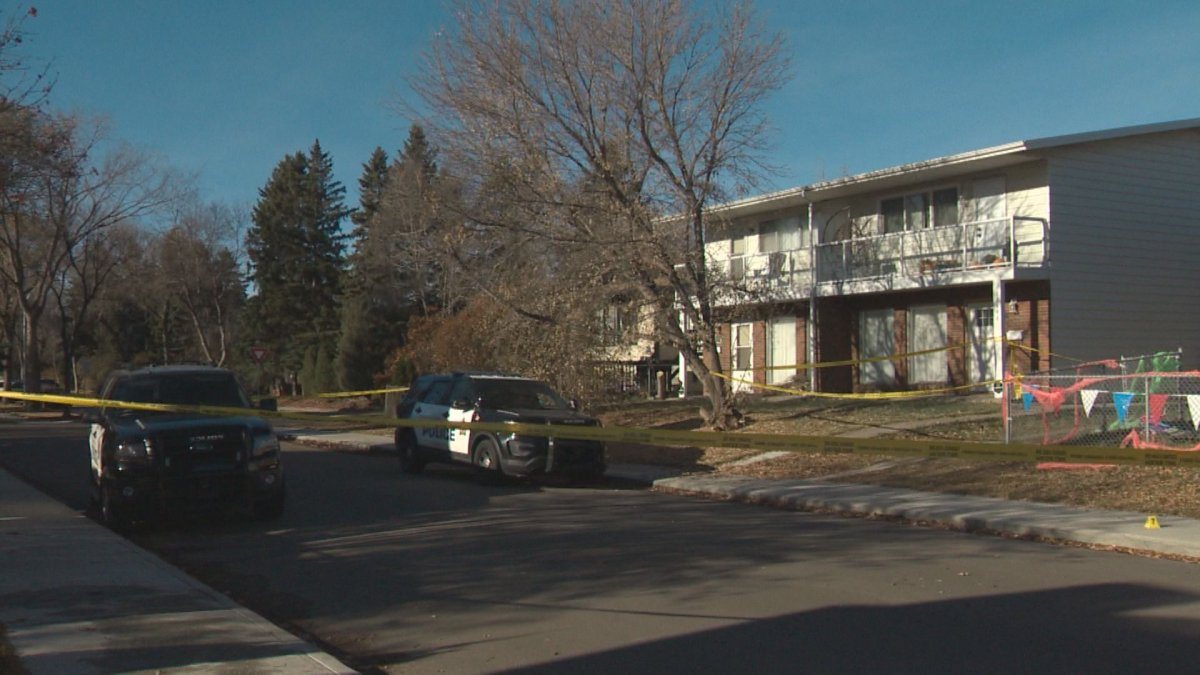 Police are investigating the death of a 24-year-old man in south Edmonton on Sunday, Nov. 1, 2020.