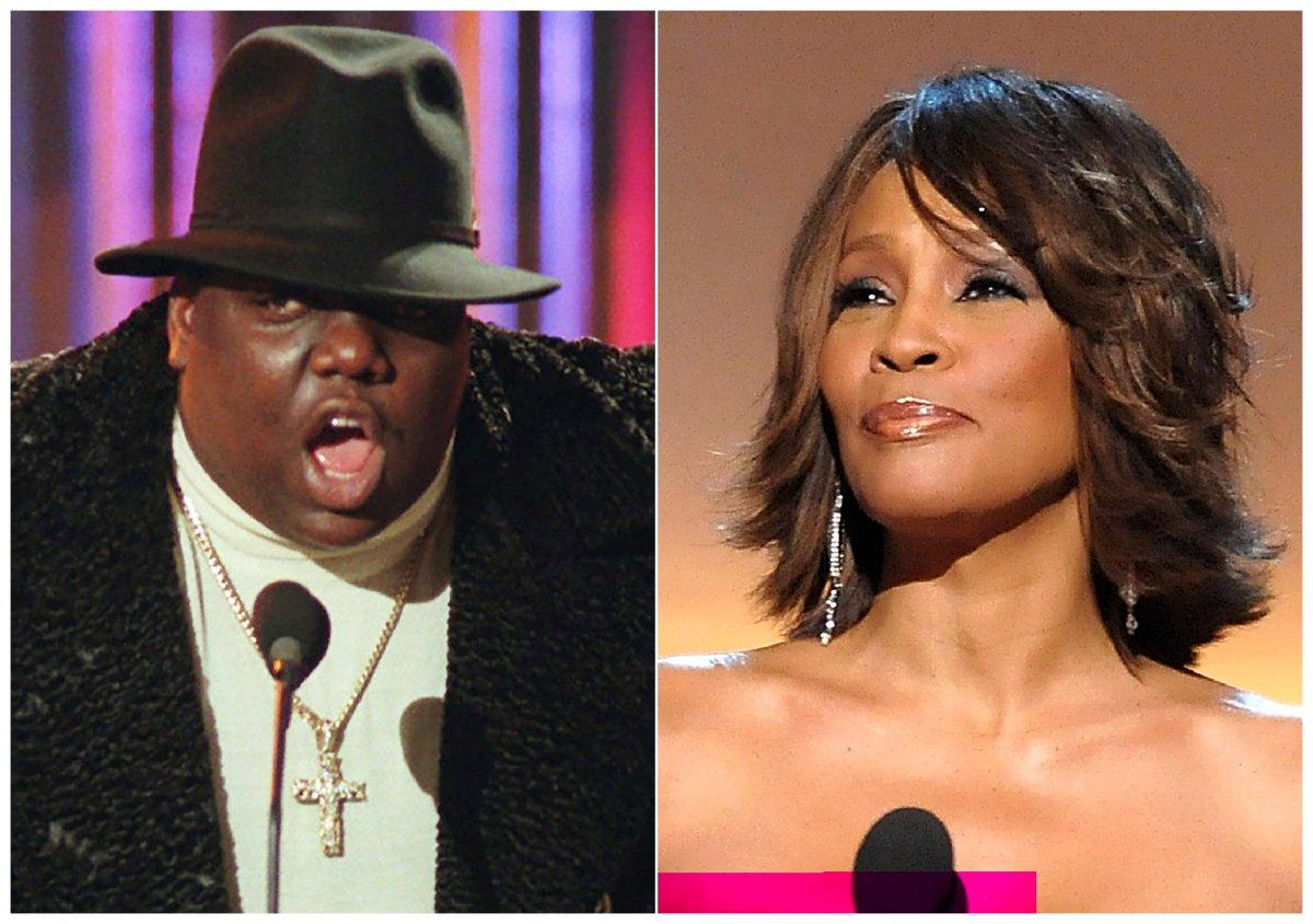 Notorious B.I.G., Whitney Houston