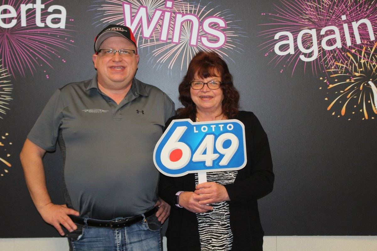 David and Betty Holst of Boyle, Alta. are $1 million richer after winning the Guaranteed Prize Draw in the Nov. 4, 2020 LOTTO 6/49 draw.