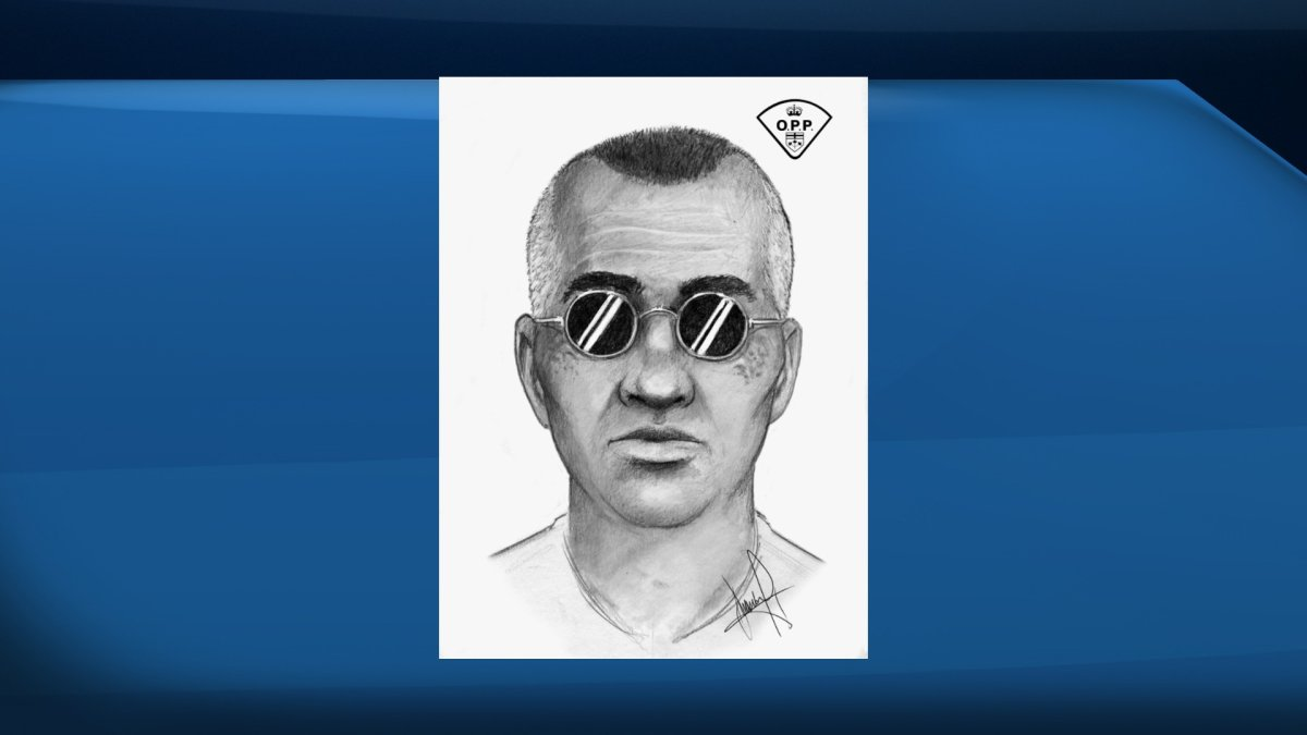 OPP produced a composite sketch of the suspect in an attempted child abduction earlier this month. He is described as 50 to 60 years old with dark hair, greying on the sides.