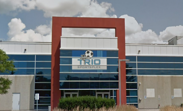 TRIO Sportsplex and Event Centre in Vaughan.