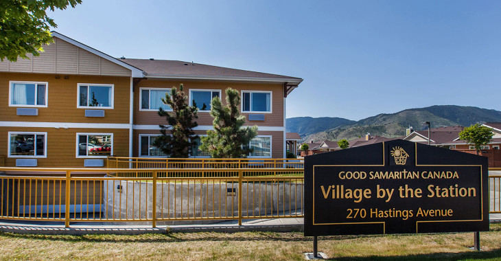 The Village by the Station long-term care home in Penticton is one of three care facilities in B.C.'s Southern Interior where a COVID-19 outbreak has been declared.