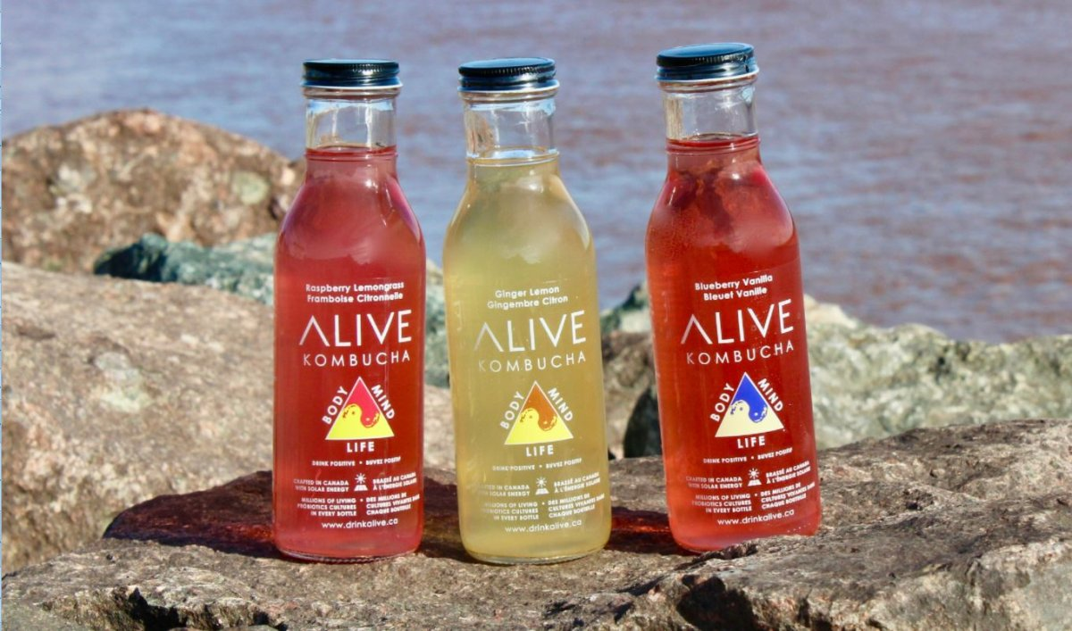 Alive Kombucha, New Brunswick's first commercial kombucha brewery, is set to receive federal and provincial funding to establish a net-zero facility.