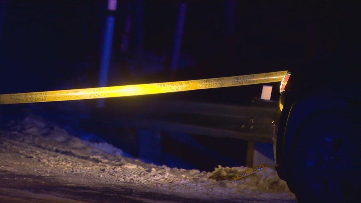 The RCMP Major Crimes Unit is investigating a scene in Bragg Creek.
