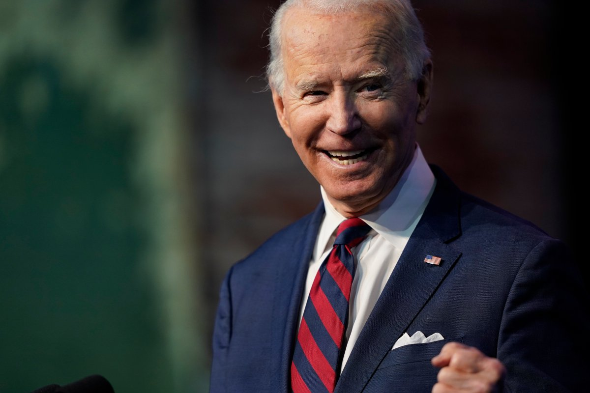 President-elect Joe Biden announces his climate and energy team nominees and appointees at The Queen Theater in Wilmington Del., Saturday, Dec. 19, 2020.
