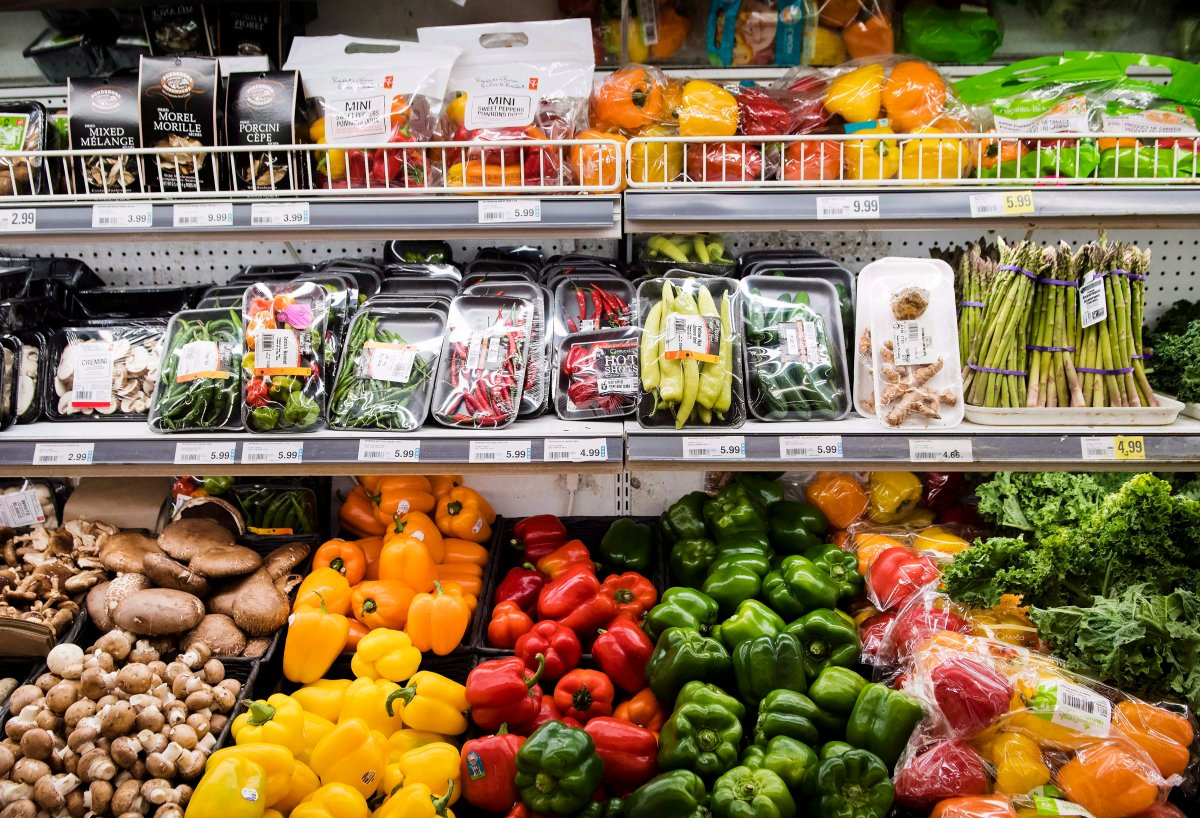 Produce is shown in a grocery store in Toronto on Friday, Nov. 30, 2018.