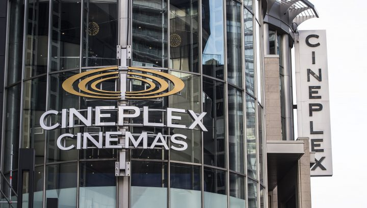 Cineplex Odeon Theater at Yonge and Eglinton in Toronto on Monday December 16, 2019.