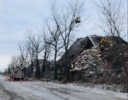 Continue reading: Mountain of construction debris at Laval recycling plant has been on fire since Saturday