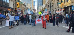 Continue reading: 5 charged following weekend anti-mask rally in Calgary